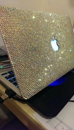 brand new d5436 0f0de Bling and Stylish MACBOOK Pro / Air / Retina White Crystal 11inch or ...