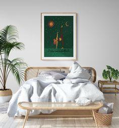 Yoga Affirmation Illustration Art for home decor. INSTANT DOWNLOAD. Gift for friends, family, birthdays. Wall art for yoga studio Surf Room, Zen Meditation, Canvas Paper, Large Prints, Printable Wall Art, Home Art, Family Birthdays, Friends Family, Illustration Art