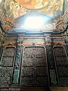 One Two frida - Milano, chiesa di San Bernardino alle Ossa - ossario