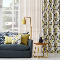 We absolutely adore these new fabrics from Warwick Fabrics, we can't wait to start using them. Warwick Fabrics, Lounge Suites, Custom Window Treatments, Custom Curtains, Sofa Upholstery, Curtains With Blinds, Living Room Inspiration, Home Living Room, Living Area