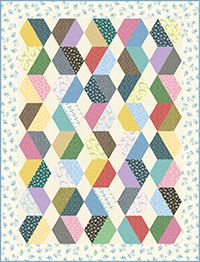 Free Little House on the Prairie - Basket of Eggs Quilt Pattern