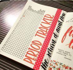 bullet journal tracker inspiration