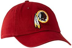 9a627e55bed NFL Washington Redskins 47 Clean Up Adjustable Hat Razor Red One Size      For