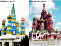 Saint Basil Church of Russia In Indonesia?