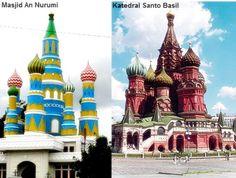 Saint Basil Church of Russia In Indonesia?