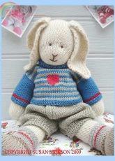 Mary Jane's Tearoom-Oscar Rabbit by Susan Hickson