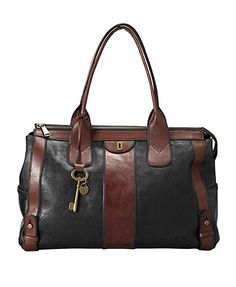 Fossil Handbag, Vintage Reissue Tote - Handbags & Accessories - Macy's