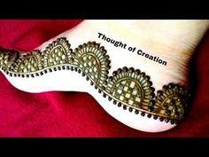 Leg Mehndi Easy : Mehndi arabic designs for hands videos simple