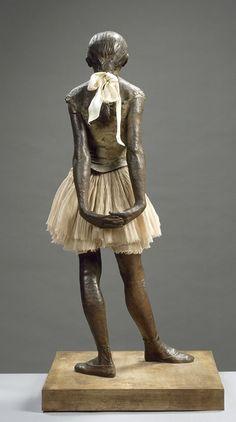 Degas, Petite danseuse de 14 ans, 1834-1917, peintre, graveur, sculpteur, photographe français, officiellement impressionniste, mais n'utilise pas leurs traits les plus connus