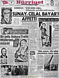 Hürriyet gazetesi 9 temmuz 1966