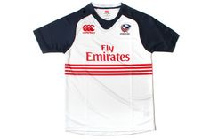 USA Eagles 2013/14 Home Pro Rugby Shirt White