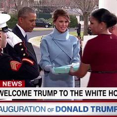 Body-language experts explain Donald and Melania Trump's strange inauguration behavior