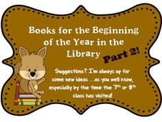 O Reads Books: Books to Read . Sooner than We Think! School Library Lessons, Library Lesson Plans, Elementary School Library, Library Skills, Library Books, Elementary Schools, Children's Books, Library Posters, Big Books
