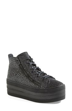 Free shipping and returns on Free Lance 'Skyla' High Top Platform Sneaker (Women) at Nordstrom.com. Shimmery stars provide a glam update for a street-savvy high-top sneaker set on a bold platform.