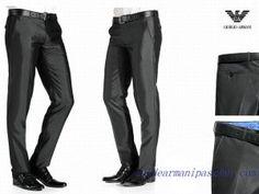 d04fada0a36c Pas Chers Pantalon Homme Giorgio Armani Gris