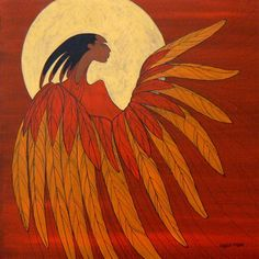 Phoenix - Contemporary Canadian Native, Inuit & Aboriginal Art Artist: Maxine Noel