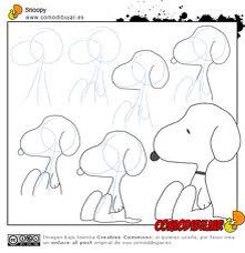 How to draw Snoopy Art Ed Central loves snoopy! Doodle Drawings, Cartoon Drawings, Animal Drawings, Easy Drawings, Doodle Art, Drawing Sketches, Sketching, Cartoon Illustrations, Drawing Lessons