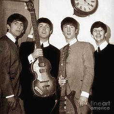 Rock And Roll Photograph - Beatles 1963 by Chris Walter