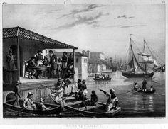 Landing Slaves at a Brazilian Port, 1830s
