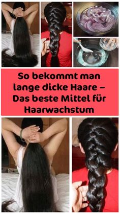So bekommt man lange dicke Haare – Das beste Mittel für Haarwachstum Long, powerful, shiny and thick hair is considered an absolute ideal of beauty. It has always stood for health, vitality, joie de vivre and success. Ideal Beauty, Baby Health, Hair Growth, Fitness Tips, Health Tips, Remedies, About Me Blog, Skin Care, Long Hair Styles