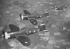 USAAF 41 6224 Republic P 47B Thunderbolt 8AF 56FG62FS Wolfpack LM X 1943