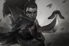 A Sword without a Sheath by Artgerm.deviantart.com on @DeviantArt