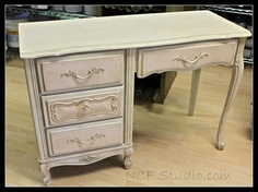 Painted Furniture painted in CeCe Caldwell s Portland Rose this