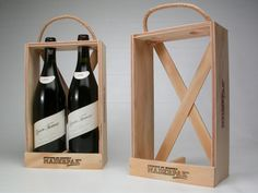 packaging moldes botellas - Buscar con Google Wooden Tool Boxes, Wood Boxes, Wood Packaging, Alcohol Dispenser, Best Gift Baskets, Barrel Projects, Wine Display, Homemade Wine, Diy Clock
