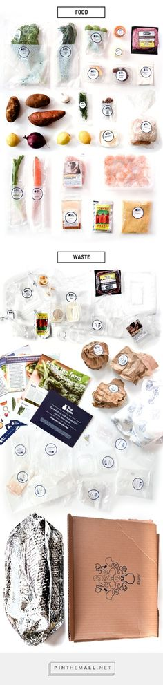With the growth of online food delivery companies like Blue Apron there are some consequences. At the top the products at the bottom leftover packaging. Packaging Diva wants to know what's your opinion? Worth the convenience or too much trash?