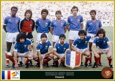 World Cup Teams, Fifa World Cup, Michel Platini, France Team, Blue Is The Warmest Colour, As Monaco, Football Images, Fan Picture, Kids Soccer