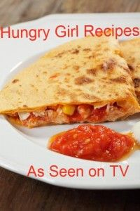 Hungry Girl BBQ Chicken Quesadilla & Carrot Fries recipes