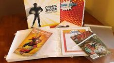 Order a Unique & Classy #comic #book #binder to keep your comics organized & protected from #Unikeep - the prominent organization serving storage products. This enclosed, durable & stackable binder comprises of 20 Comic Book Organizing content pages including an index to log comic and date.
