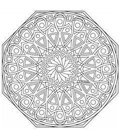livro de colorir de mandala - Pesquisa Google