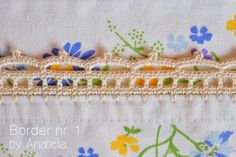 Crochet border nr 1 for individual tablecloth by Anabelia