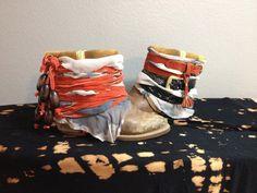 cowboy boots gone boho
