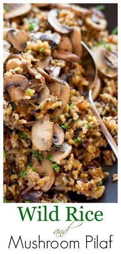 Wild Rice Recipes, New Recipes, Vegetarian Recipes, Cooking Recipes, Healthy Recipes, Potato Recipes, Water Recipes, Grilling Recipes, Fast Recipes