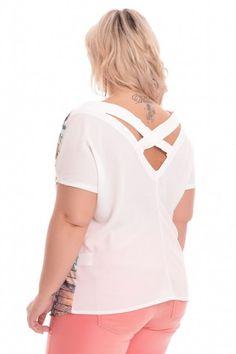 Blusa Plus Size Mel
