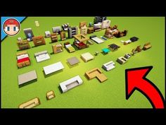 Minecraft Furniture Ideas And Build Hacks - You Can Build As Well! - Minecraft Servers Web - MSW - Channel Minecraft Furniture Ideas And Build Hacks - You Can Build As Well! Cute Minecraft Houses, Minecraft Houses Blueprints, Minecraft Room, Minecraft Crafts, Minecraft Furniture, Minecraft Buildings, Minecraft Skins, Lego Room, Creeper Minecraft
