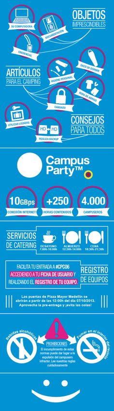 Campus Party Colombia 2013 #infografia