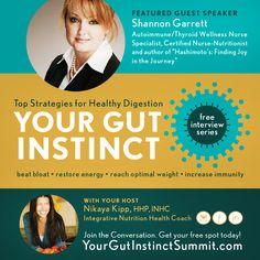 Your Gut Instinct Summit is happening July 1st - July 8th!