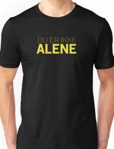 Du Er Ikke Alene — Skam Unisex T-Shirt