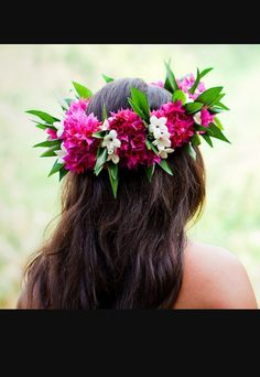 Hawaiian flower crown