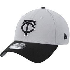 wholesale dealer 01982 27f5c Men s Minnesota Twins New Era Gray Black Team Classic 39THIRTY Flex Hat, Your  Price   29.99