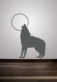 Wall Decal Animal Wolf Nature Wildlife Hunting by WallStarGraphics, $45.00