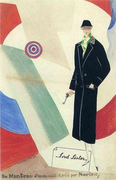 Advertisement for Norine - Rene Magritte, 1925