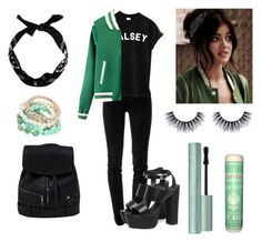 """""""Season 1: Aria Montgomery"""" by violenceinsilence ❤ liked on Polyvore featuring J Brand, WithChic, New Look, PrettyLittleLiars, pll, LucyHale and ariamontgomery"""