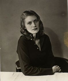 Lee Miller au collar    by Man Ray