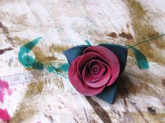 Picture of Making a Leather Rose
