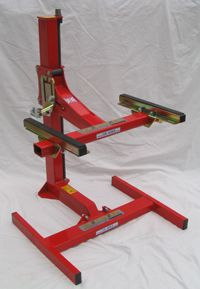 Eazy Rizer Red Motorcycle Lift