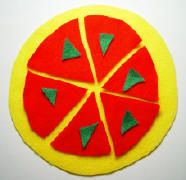Felt Pizza Fun – Toddler Activities, Games, Crafts